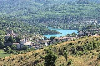 Esparron-de-Verdon Commune in Provence-Alpes-Côte dAzur, France