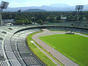 Estadio Olimpico Universitario CU