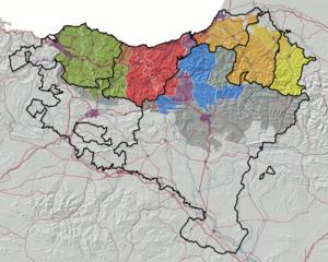 Gipuzkoan dialect - Image: Euskalkiak koldo zuazo 2008