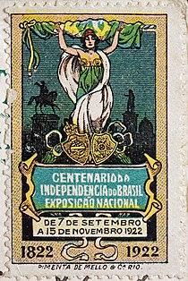 Exposição do Centenário de 1922- Selo comemorativo.jpg