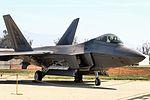 F-22 Raptor - Chino Airshow 2014 (16396135439).jpg