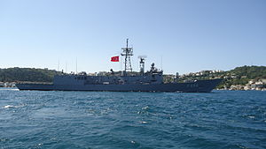 Turkish TCG F-496 Gökova Frigate