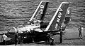 F9F-6 of VF-191 on USS Yorktown (CVA-10) c1953.jpg
