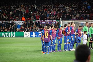 Adriano (footballer, born 1984) - Image: FC Barcelona Bayer 04 Leverkusen, 7 mar 2012 (35)