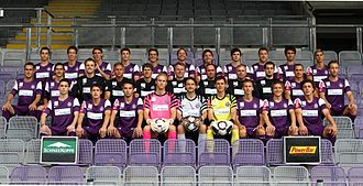 FK Austria Wien - Team photo for the 2010–2011 season