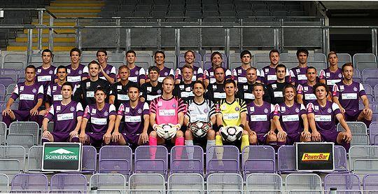 FK Austria Wien - Teamphoto 2010-11