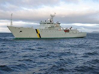 Scottish Fisheries Protection Agency - FPV Jura