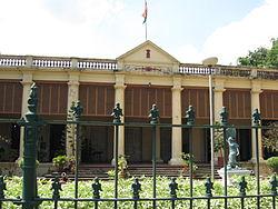 Der ehemalige französische Gouverneurspalast in Chandannagar