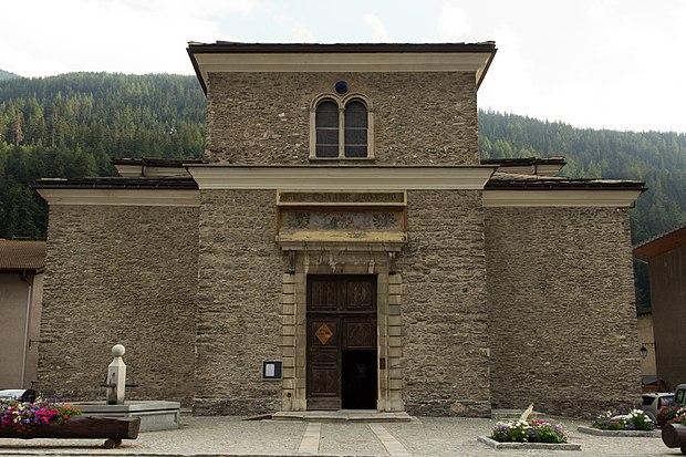Monument historique à Lanslebourg-Mont-Cenis