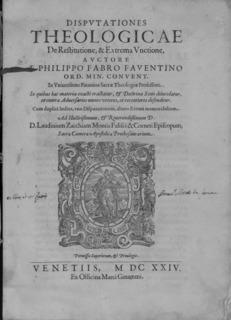 Philip Faber Italian theologian