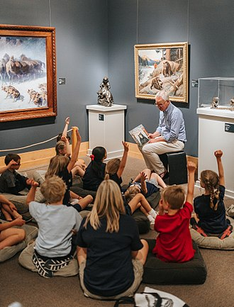 National Museum of Wildlife Art - Image: Fables, Feathers & Fur
