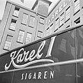 Fabriekspui met opschrift Karel I sigaren (Tongelresestraat), Bestanddeelnr 255-8432.jpg