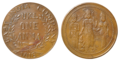 Fake Coin - East India Company - 1818 UKL One Anna - Kolkata 2013-05-15 8266-8267 Combined.png