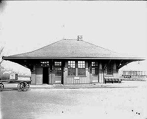 Ellicott, New York - Falconer Station, Falconer, NY