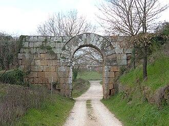 Falerii - Falerii Novi - Porta di Giove