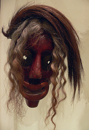 False Face Society - False Face in the Ethnological Museum in Berlin