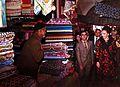 Farah Pahlavi in Bazaar of Damghan.jpg
