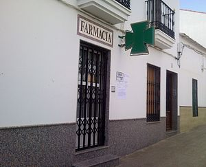 Español: Farmacia de Retamal de Llerena