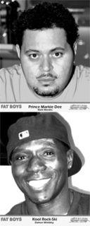 The Fat Boys American hip hop trio
