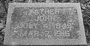 John Caldwell tombstone