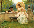 Federico Andreotti - A Tender Moment in the Garden.jpg