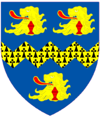 Fellowes of West Stafford Escutcheon.png