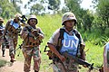 Female combat troops of South African Contingent in MONUSCO on robust foot and moblile patrols 68.jpg
