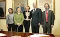Fernández de la Vega preside las tomas de posesión de los delegados del Gobierno de Madrid y Galicia. Pool Moncloa. 28 de abril de 2009.mageF.jpeg