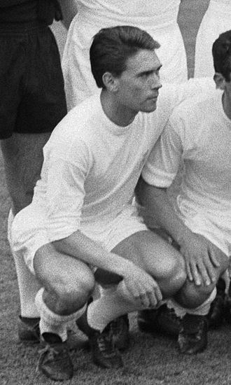 Fernando Serena - Serena with Real Madrid in 1966