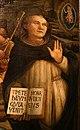 Filippo lippi e collaboraori, natività coi ss. giorgio e vincenzo ferrer, 1465-67, da s. domenico a prato 07.jpg