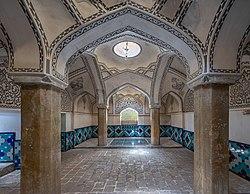 Fin bathroom in Kashan