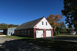 Former Cummington Fire Department headquarters