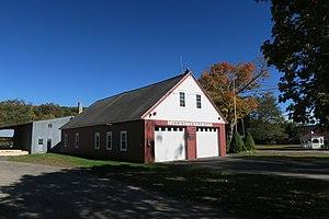 Cummington, Massachusetts - Former Cummington Fire Department headquarters