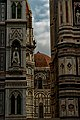 Firenze - Florence - Piazza di San Giovanni - View East on the Space between il Duomo & Campanile di Giotto.jpg