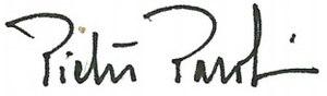 Pietro Parolin - Image: Firma parolin