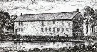History of Fall River, Massachusetts - Durfee's Mill, 1811