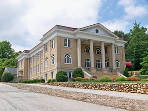 National Register of Historic Places listings in McDowell County, North Carolina - Image: First Presbyterian Church, Marion, NC