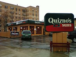 First Quizno's Subs restaurant