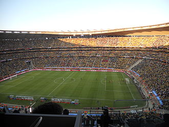 1996 African Cup of Nations - Image: First game of the 2010 FIFA World Cup, South Africa vs Mexico