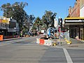 Fitzmaurice Street upgrade viewed from the intersection of Fitzmaurice and Johnston Streets.jpg