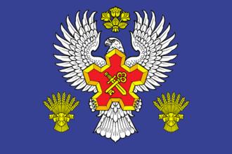 Gorodishchensky District, Volgograd Oblast - Image: Flag of Gorodischensky rayon (Volgograd oblast)