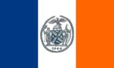 Flag of New York City, New York (1915–1977)