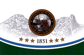 Roseville, California - Image: Flag of Placer County, California