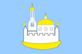 Flag of Ust-Izhora (St Petersburg).png