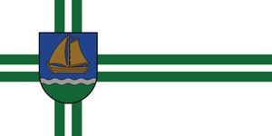 Ventspils Municipality - Image: Flag of Ventspils novads