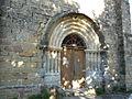 Fleurac église portail.JPG