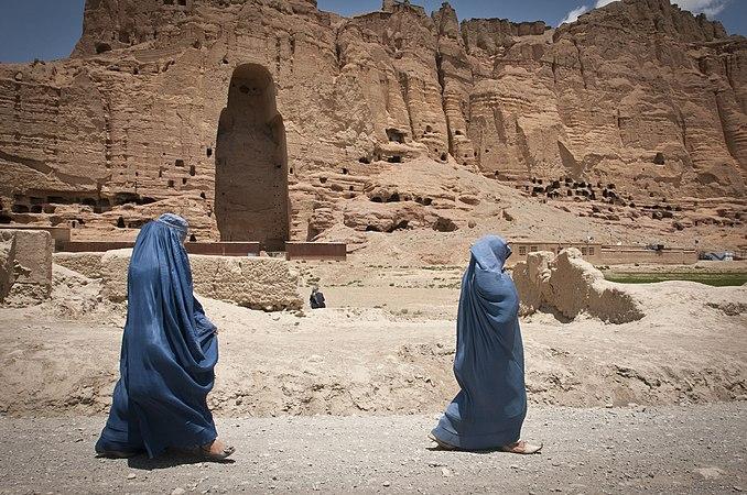 Flickr - DVIDSHUB - Giant standing Buddhas of Bamiyan still cast shadows (Image 2 of 8).jpg