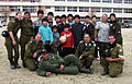 Flickr - Israel Defense Forces - IDF Japan Aid Delegation and Local Children Speak the Same Language.jpg