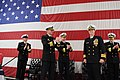 Flickr - Official U.S. Navy Imagery - A CO is applauded by outgoing commanding officer..jpg