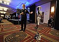 Flickr - Official U.S. Navy Imagery - Rear Adm. Klunder introduces CHARLI-2 robot..jpg